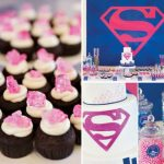 Superman Themed Baby Shower Decorations and Party Favors