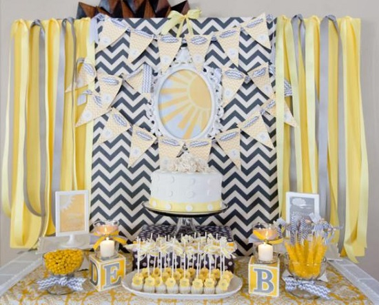 You Are My Sunshine Summer Baby Shower Ideas