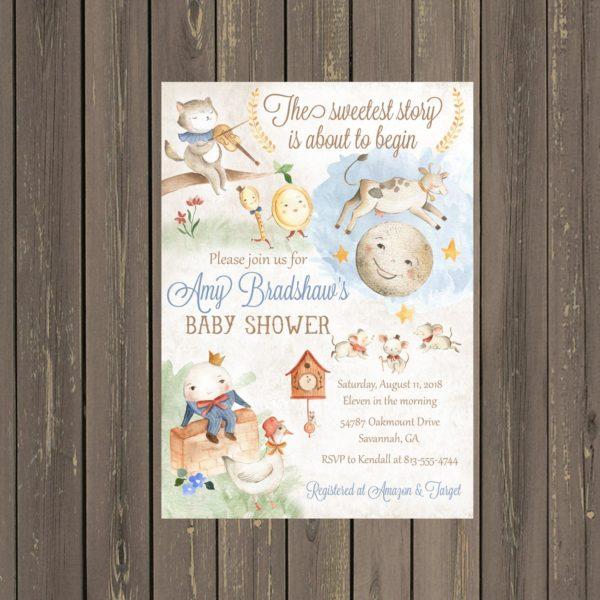 nursery-rhyme-baby-shower-invitation-storybook