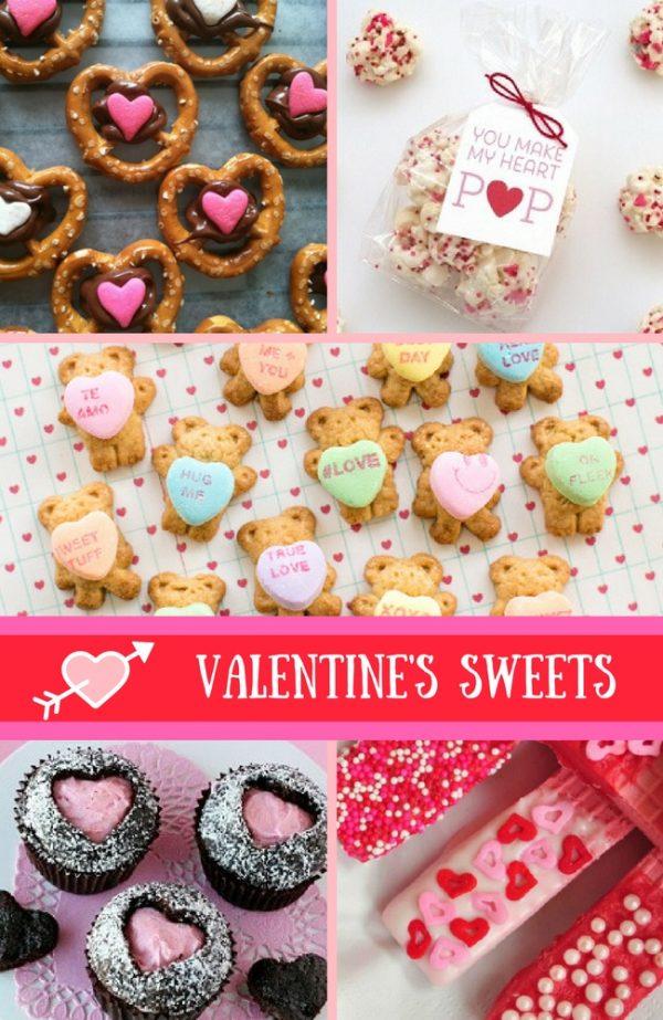 Valentine's Sweet Recipes