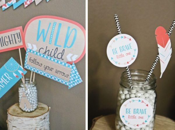 boho-tribal-baby-shower-decoration-ideas