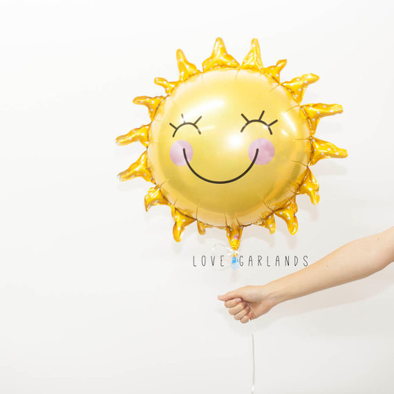 baby shower sunshine balloon