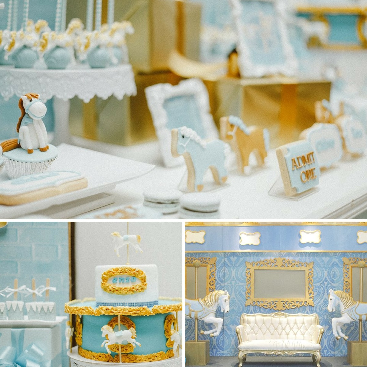 blue-carousel-baptism-baby-shower-ideas