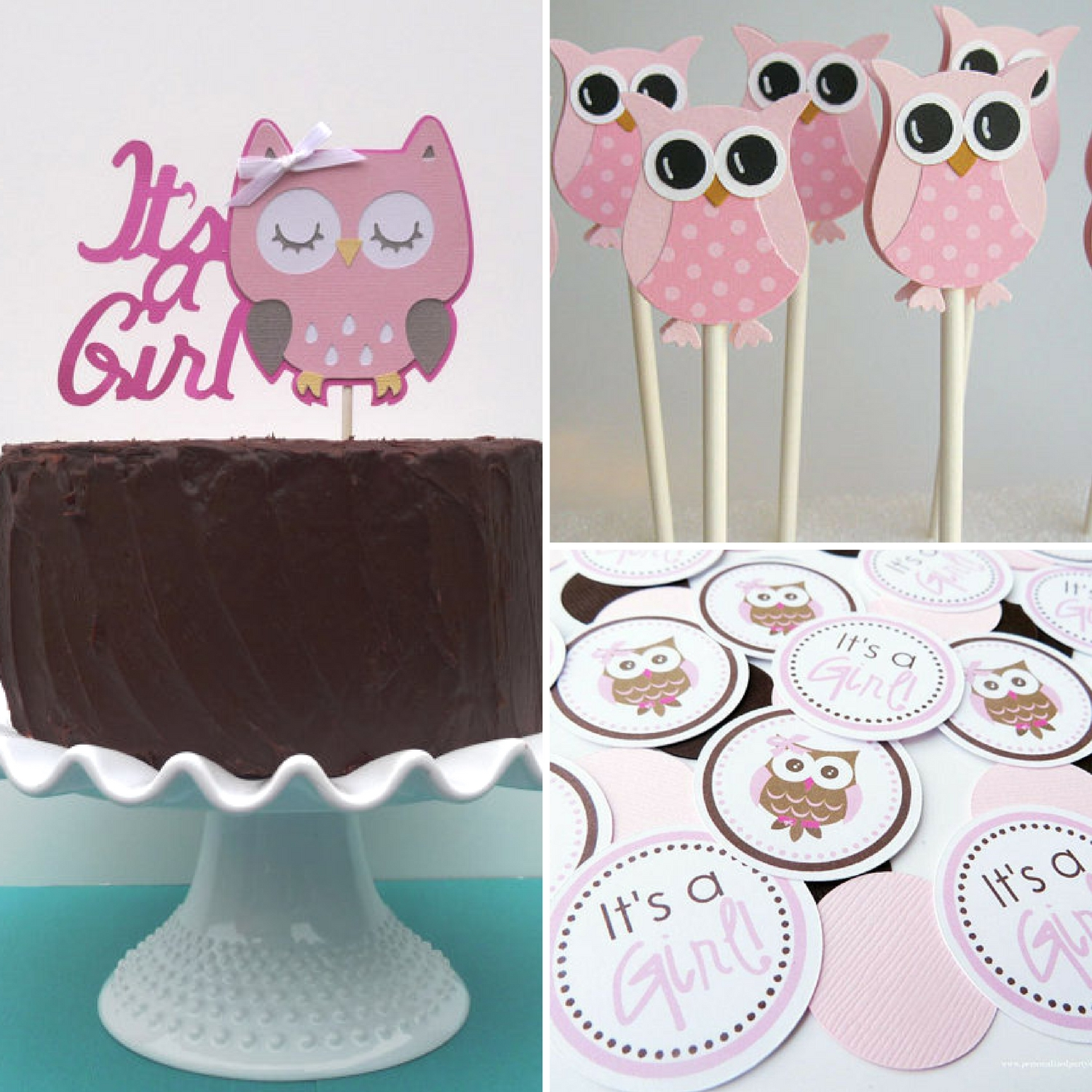 owl-themed-baby-shower-decorations-and-party-favors