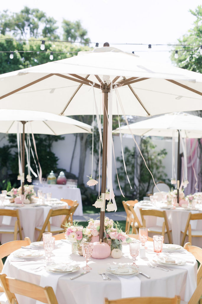 pretty-little-pumpkin-baby-shower-umbrellas