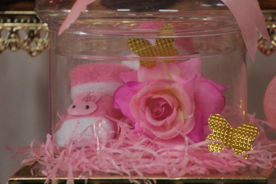 pretty-pink-princess-shower-baby-sock