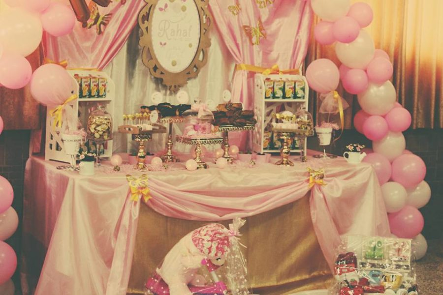 pretty-pink-princess-shower-dessert-station