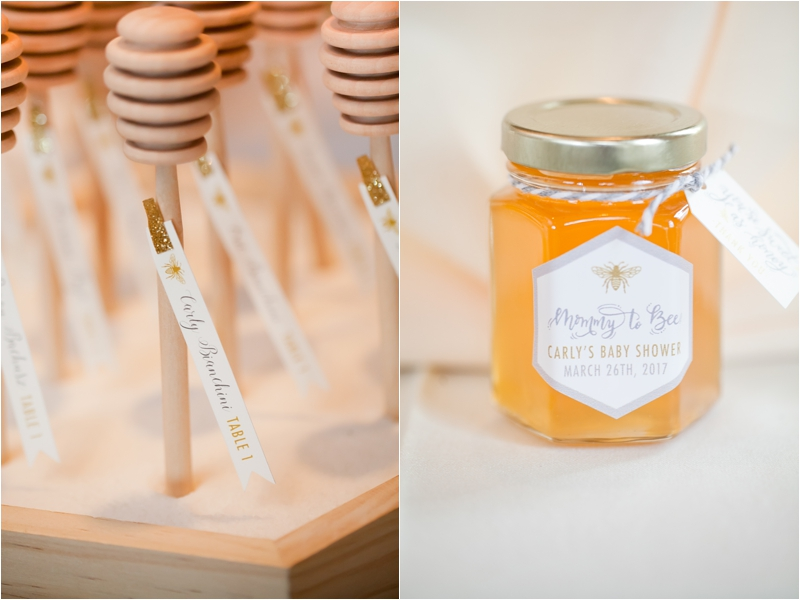 stylish-sweet-as-can-bee-shower-honeycomb-place-settings
