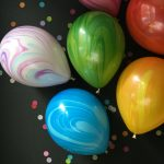Tie Dye Themed Baby Shower Decorations and Party Favors