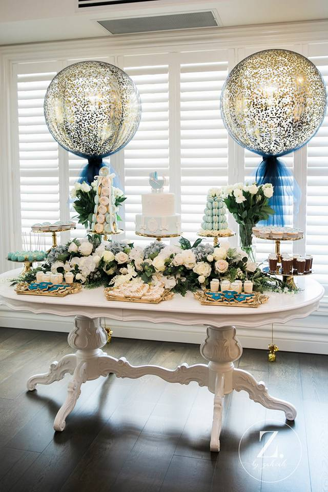 baby-blue-and-navy-blue-baby-shower-dessert-tablescape