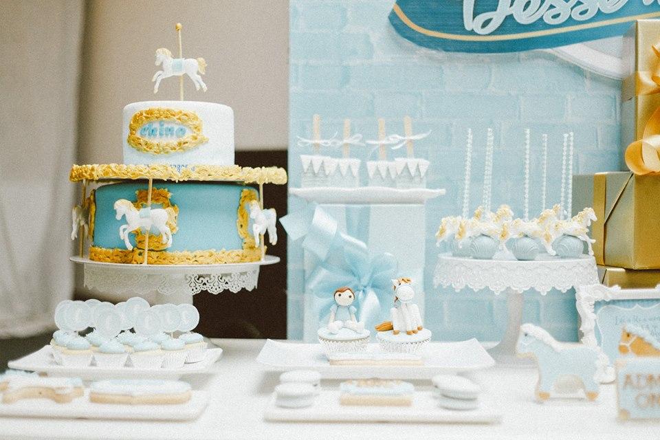 blue-carousel-baptism-baby-shower-dessert-tablescape-treats