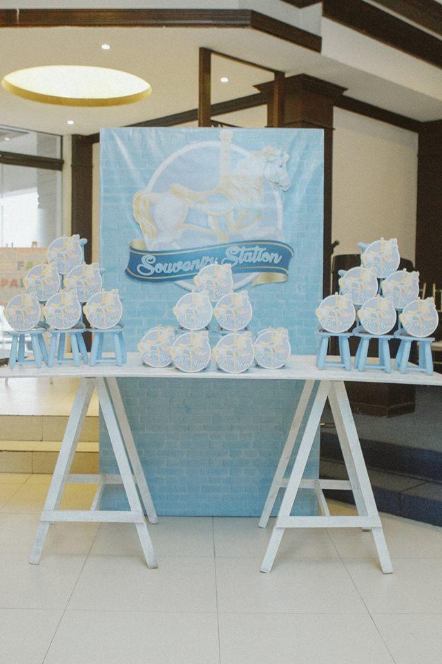blue-carousel-baptism-ideas