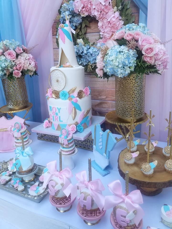 boho-gender-reveal-party-tablescape