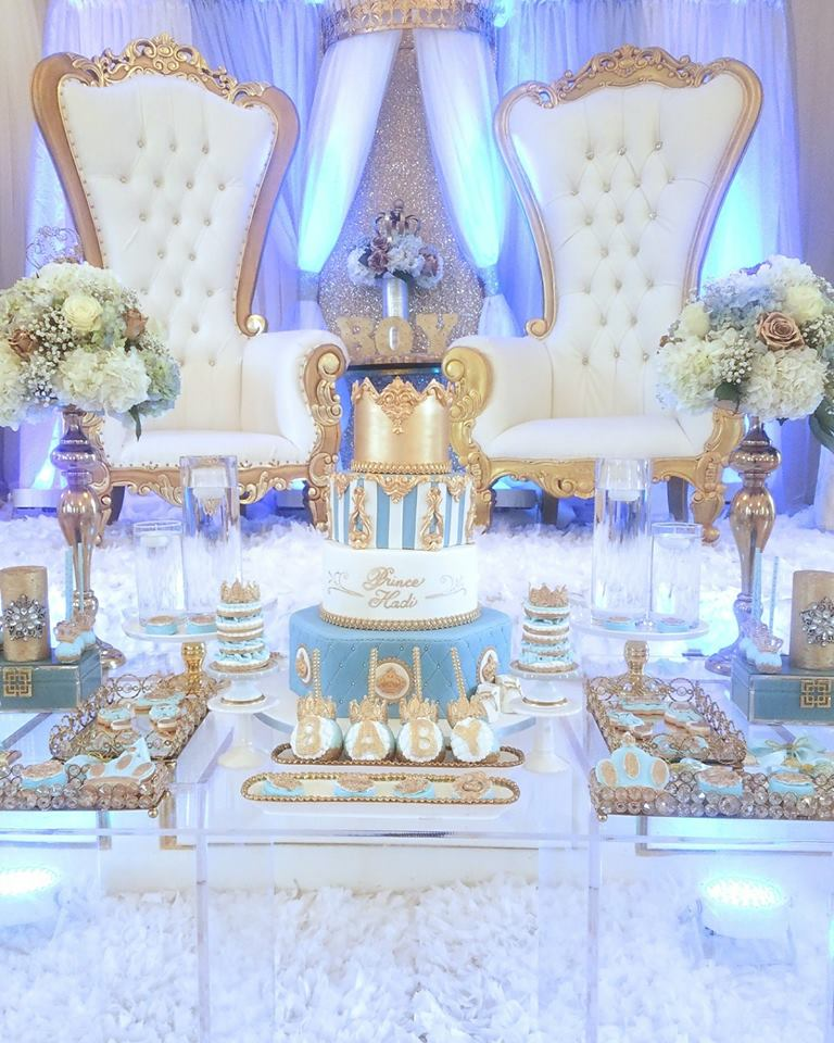 light-blue-gold-royal-prince-baby-shower