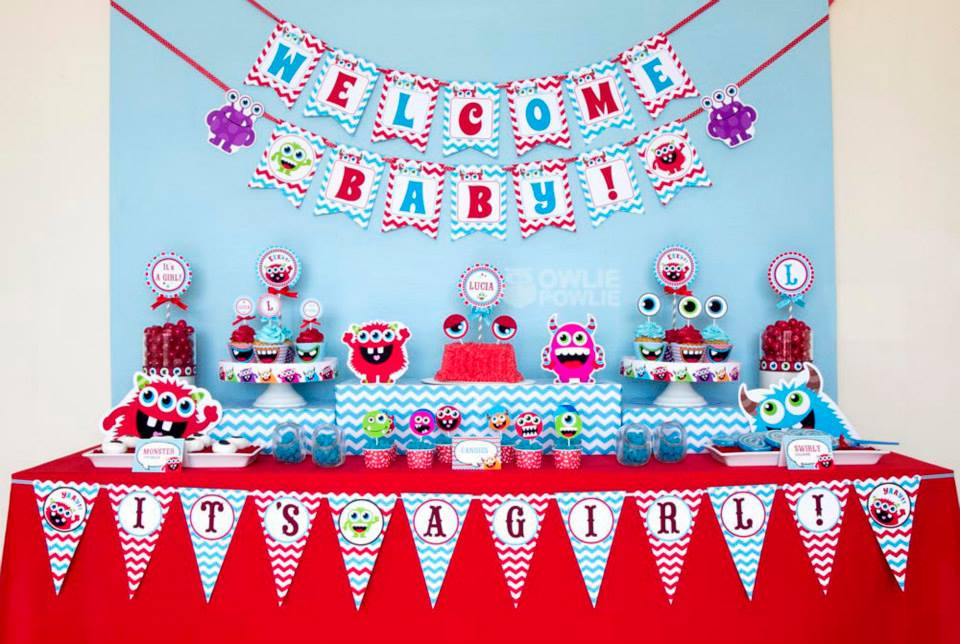 monster-bash-baby-shower-dessert-table-ideas