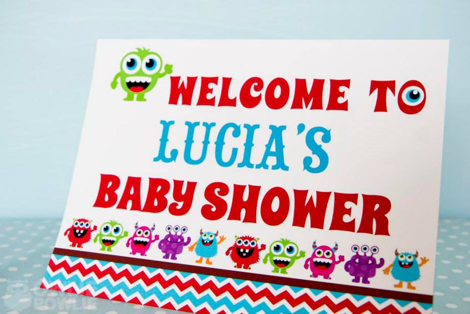 monster-bash-baby-shower-welcome-sign
