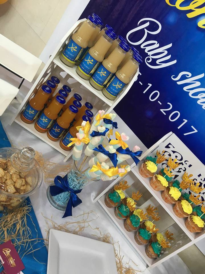 navy-royal-prince-baby-shower-ideas-drink-station