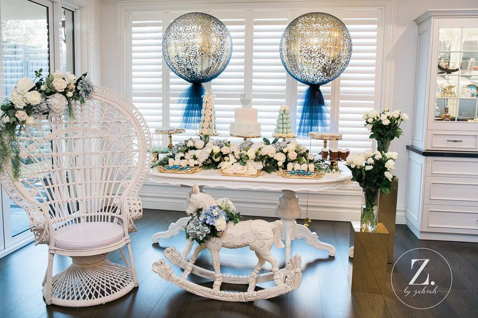 rocking-horse-boy-baby-shower-dessert-table