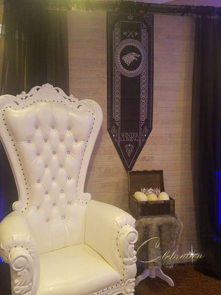 fabulous-game-of-thrones-baby-shower-white-chair