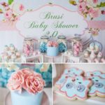Florals and Bicycles Baby Shower