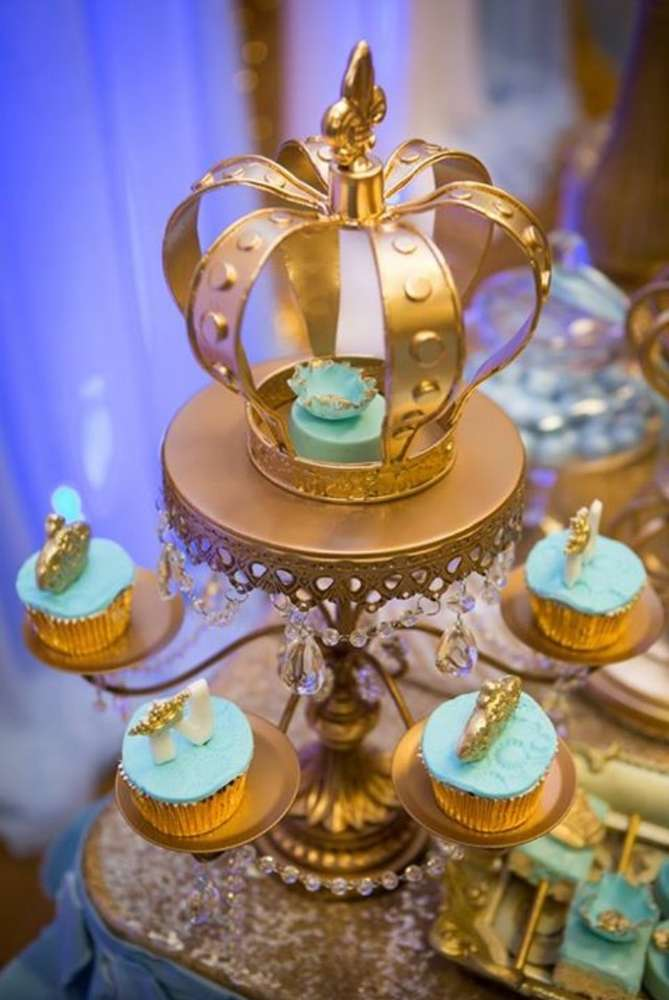 gold-and-blue-royal-baby-shower-cupcake-stand