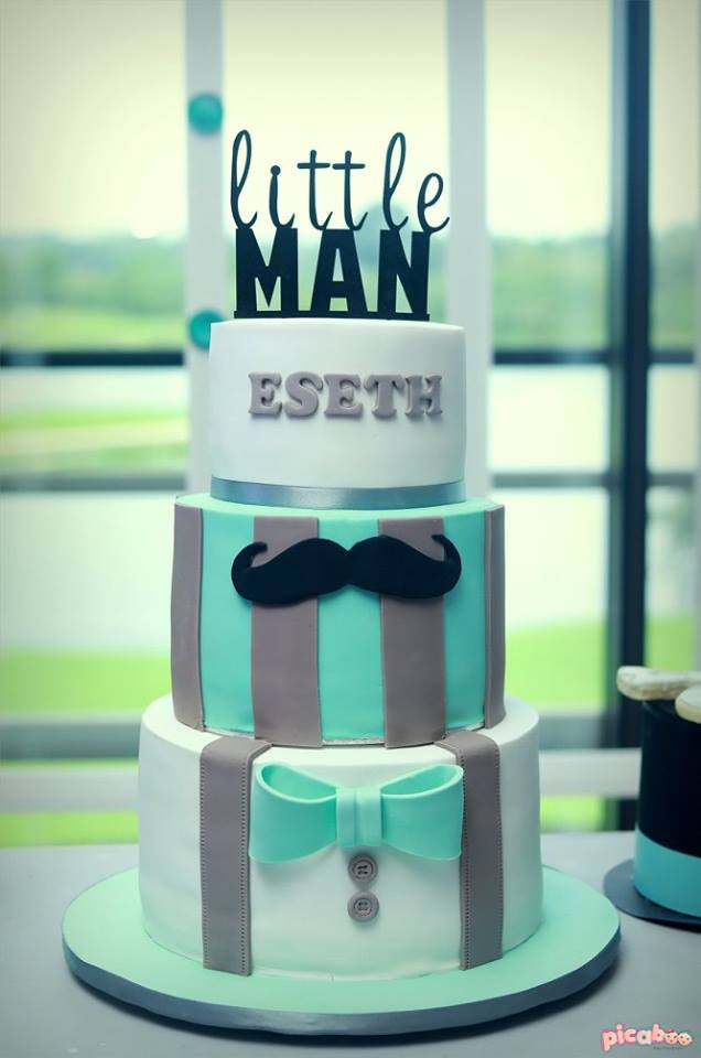 little-man-cake
