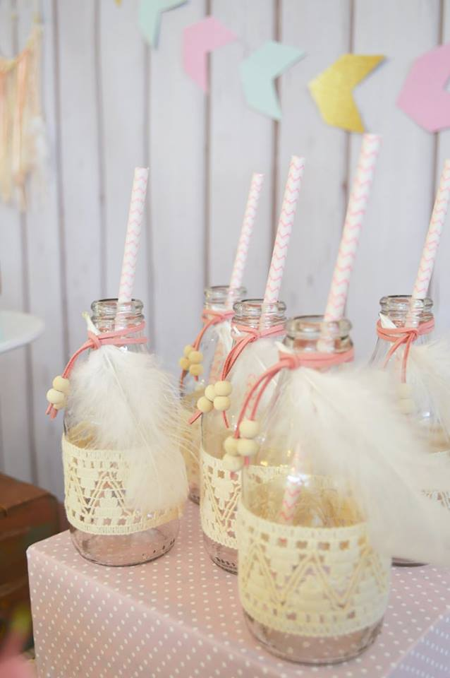 pastel-boho-chic-party-jar-decorated