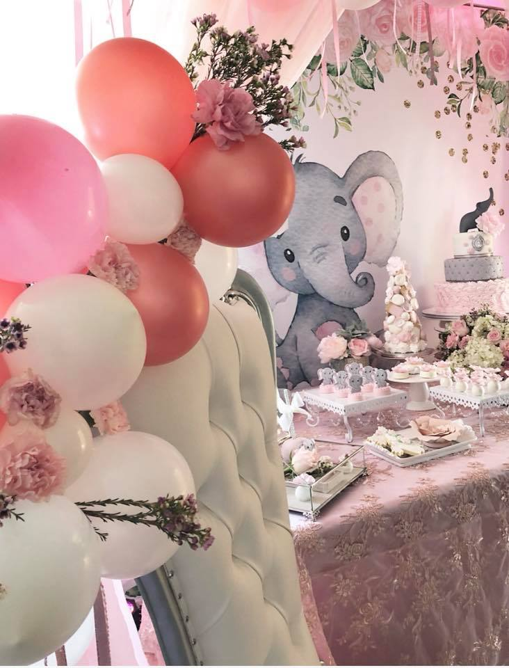 pink-and-gray-elephant-baby-shower-balloons