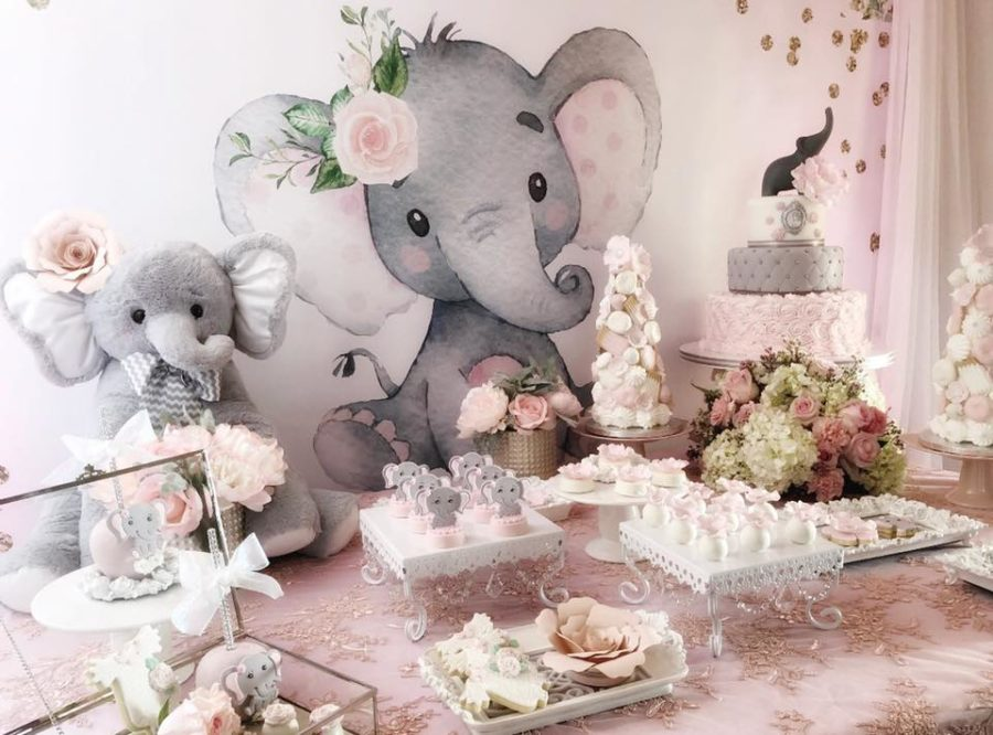 pink-and-gray-elephant-baby-shower-desserts