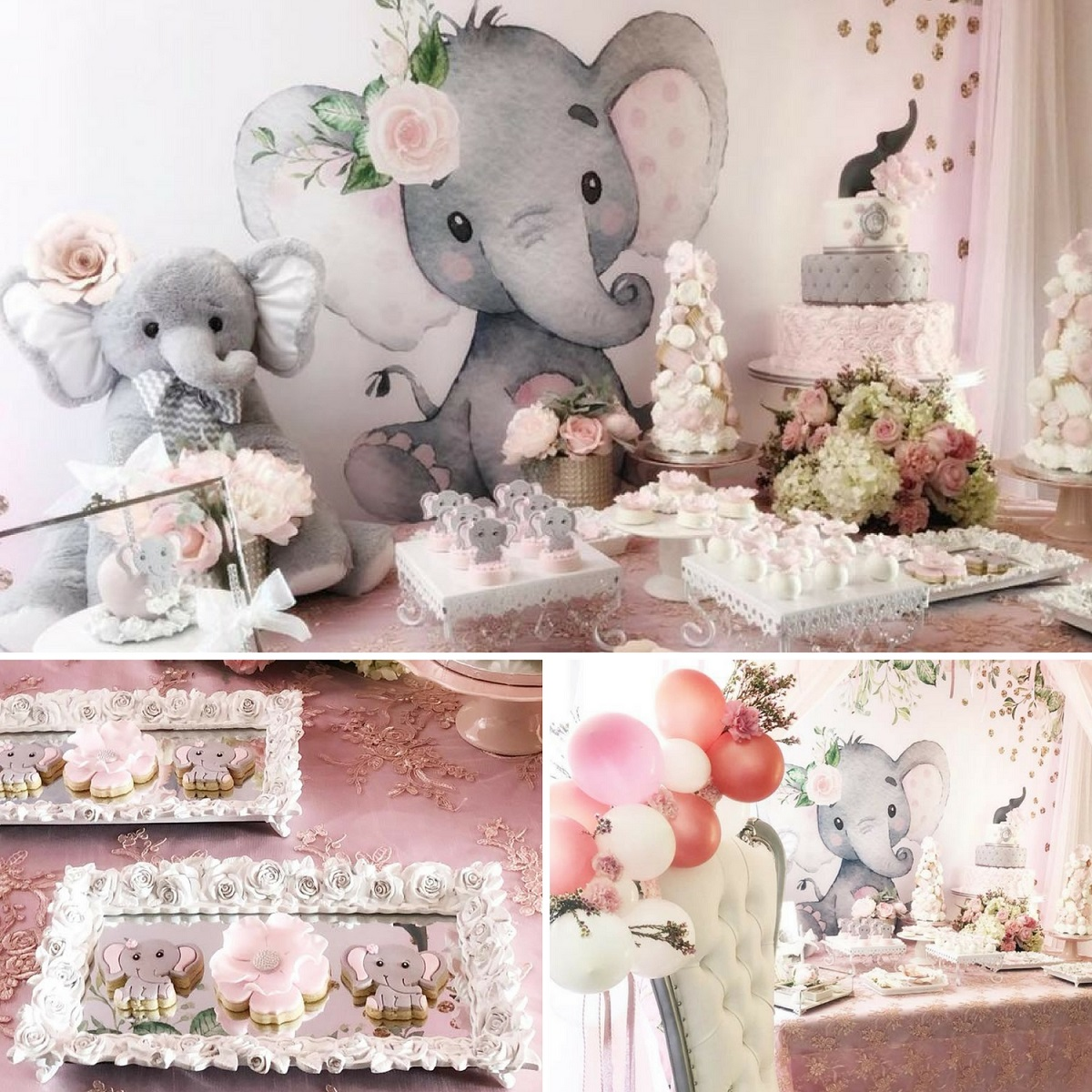 pink-and-gray-elephant-baby-shower