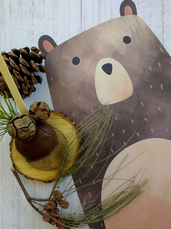 play-in-the-forest-party-woodland-bear-poster