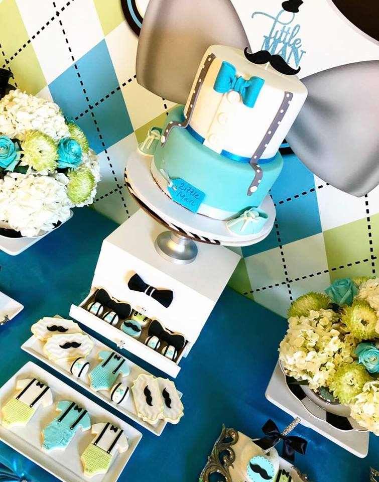 sophisticated-little-man-baby-shower-cake