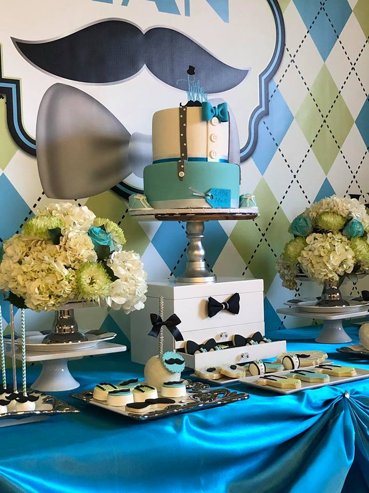 sophisticated-little-man-baby-shower-treat-table