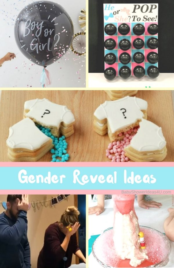 What are some good Gender Reveal Ideas