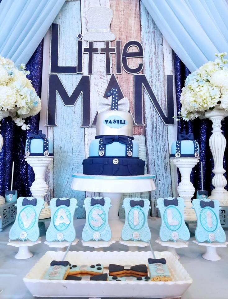 little-man-first-celebration-cake-table