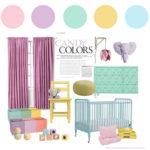 Pastel Candy Nursery