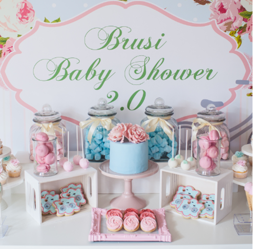 shabby-chic-floral-baby-shower-dessert-table