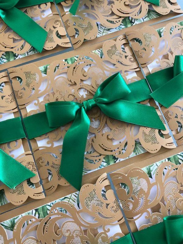 gold-and-hunter-green-safari-baby-shower-invitation