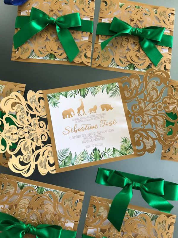 gold-and-hunter-green-safari-baby-shower-invitation-stunning
