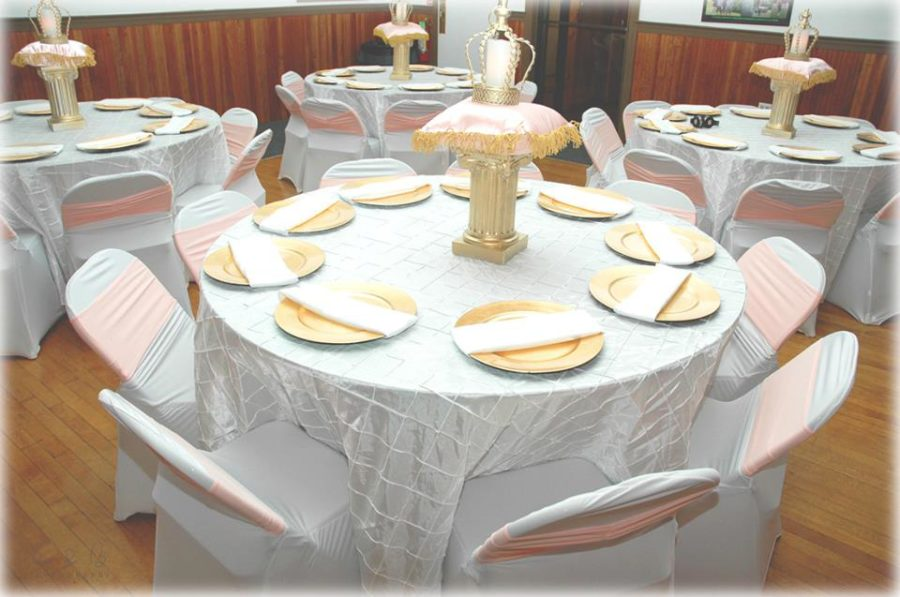 gold-and-pink-princess-baby-shower-guest-seating