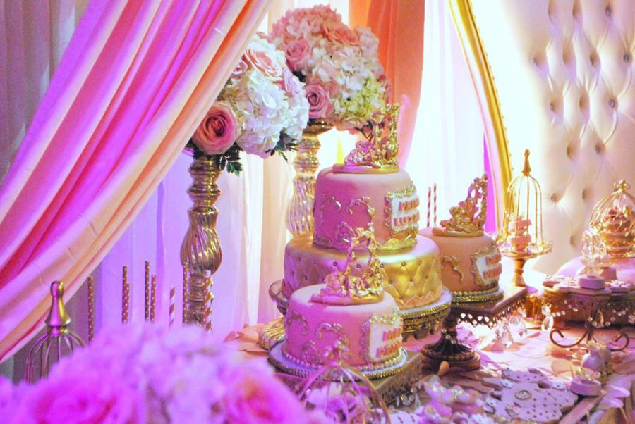 gold-and-pink-princess-baby-shower-treat-table