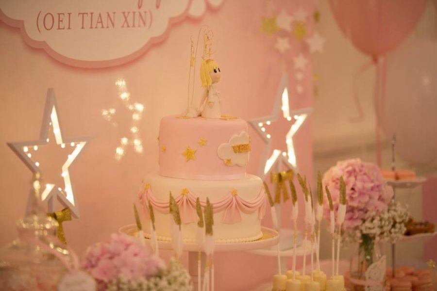 angelic-pink-baby-shower-angel-cake