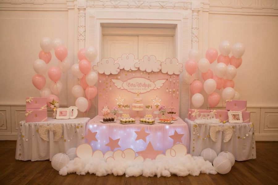 angelic-pink-baby-shower-treat-table