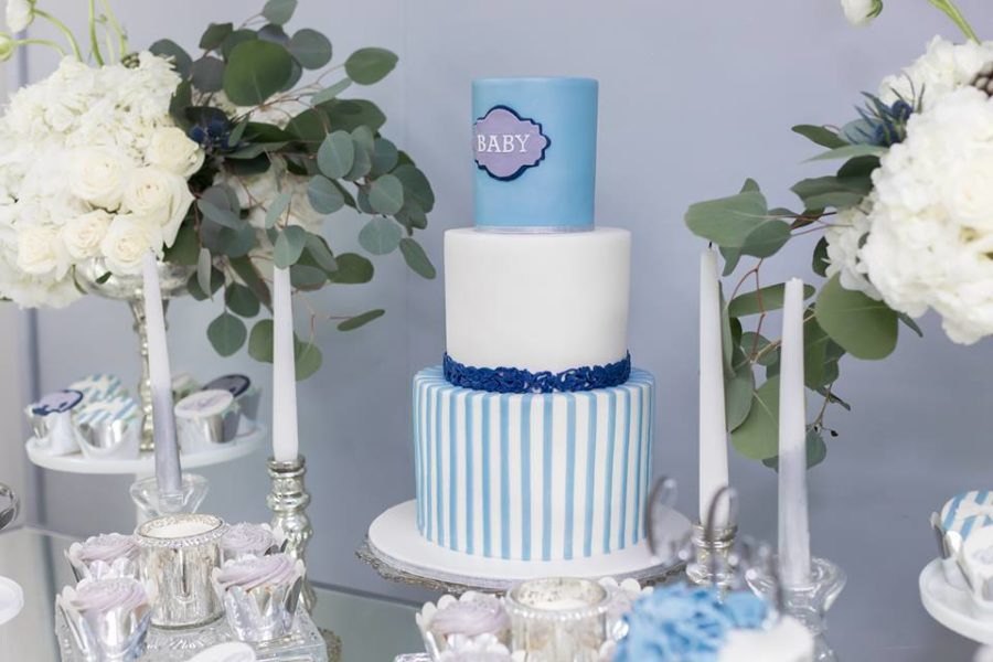 blue-and-silver-elephant-baby-shower-big-cake