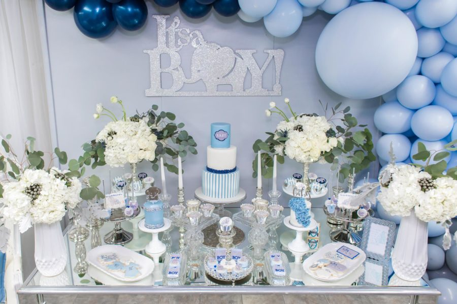 blue-and-silver-elephant-baby-shower-dessert-station