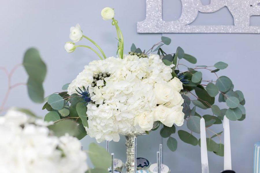 blue-and-silver-elephant-baby-shower-flower-bouquet