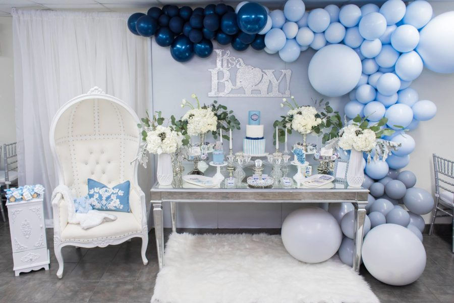 blue-and-silver-elephant-baby-shower-treat-table