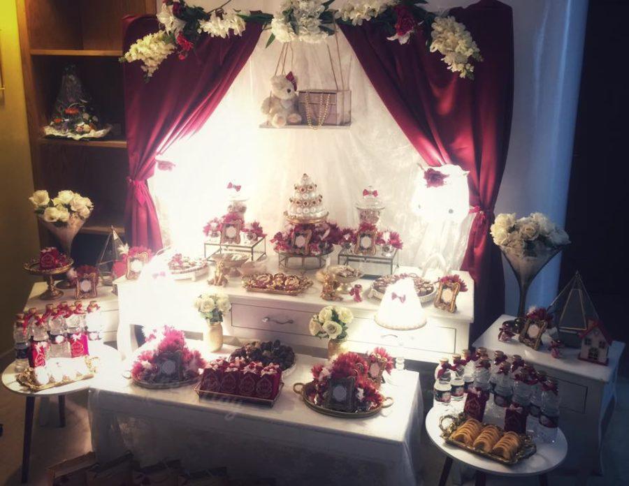royal-velvet-baby-shower-sweet-table