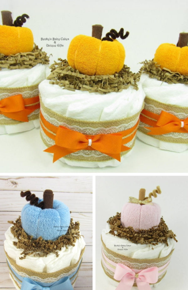 autumn-baby-shower-diaper-cakes-centerpiece-1