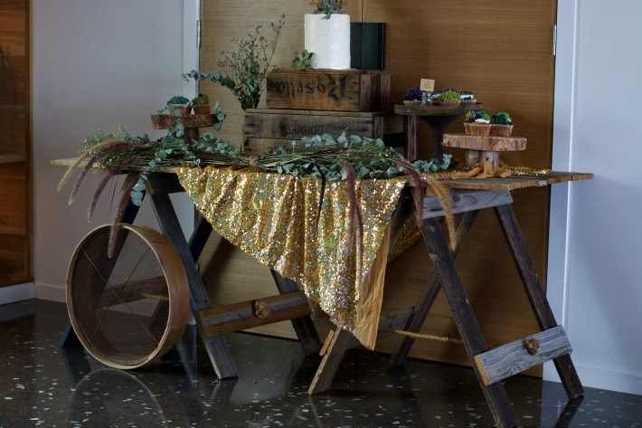 bohemian-style-baby-shower-dessert-table